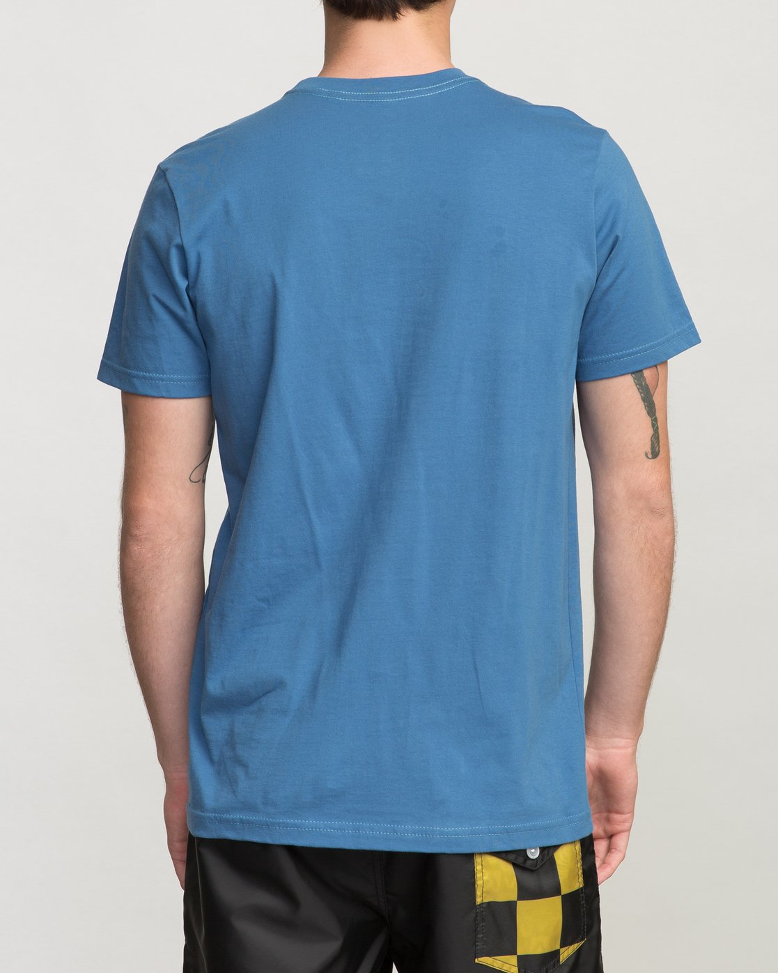 3 Birdwell PM NK Patch T-Shirt Blue M434PRPK RVCA