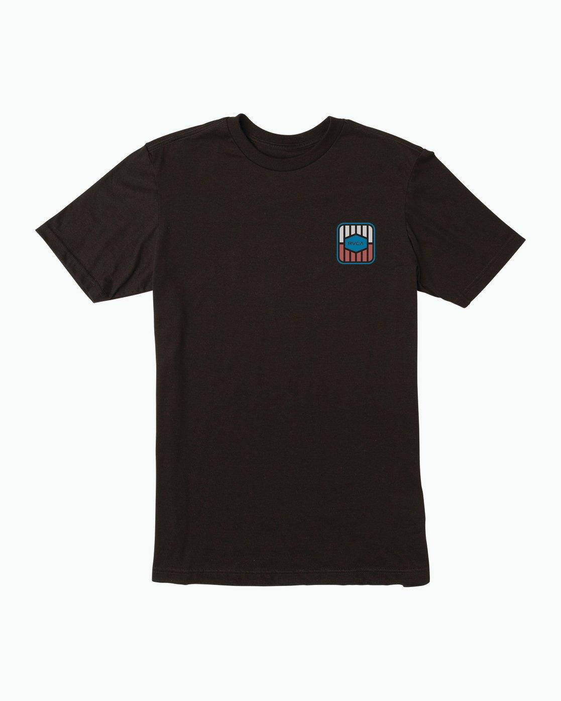 1 Milton T-Shirt Black M434SRMI RVCA