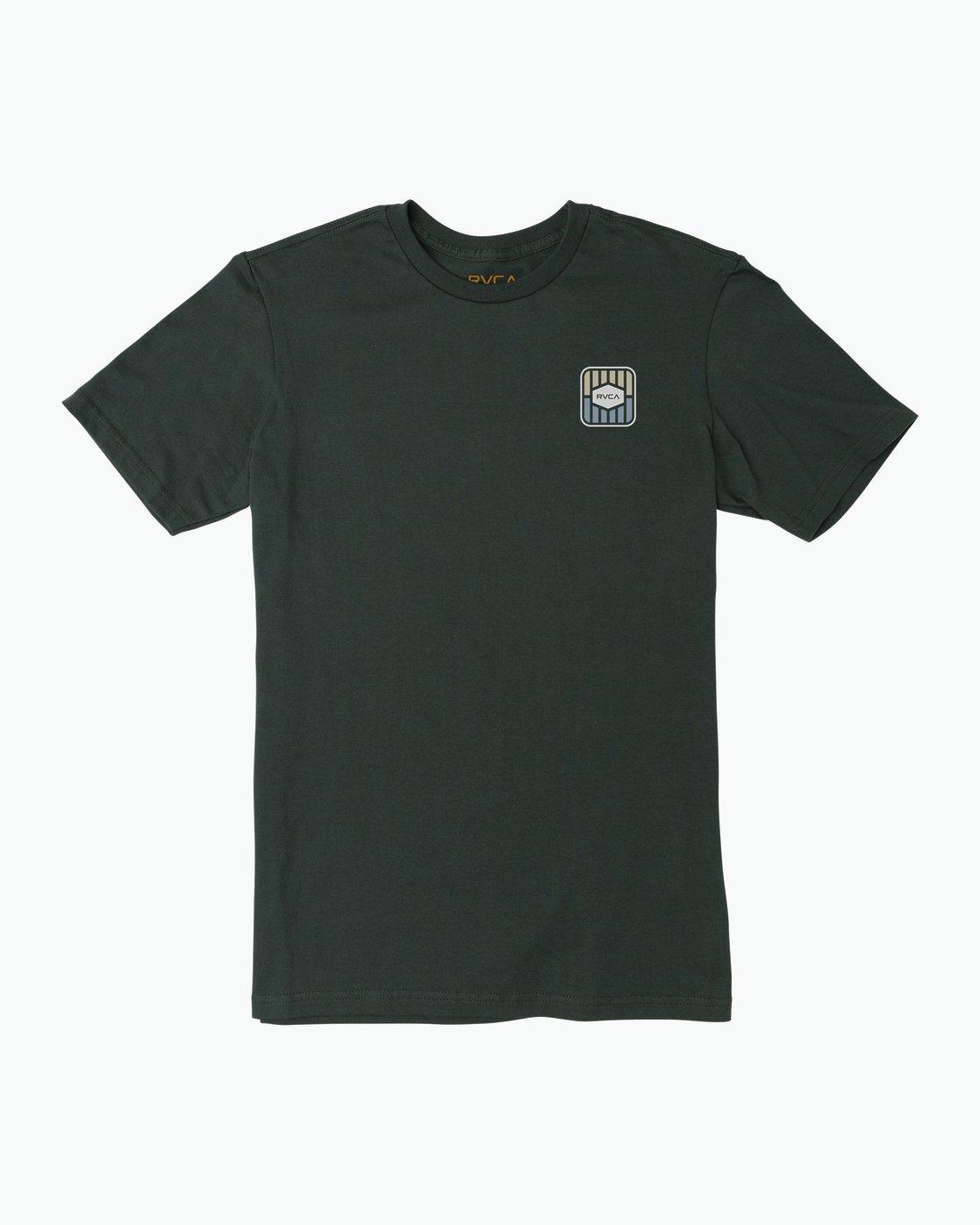 1 Milton T-Shirt Green M434SRMI RVCA