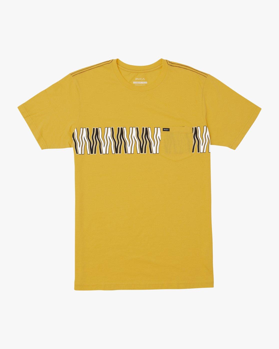 0 VA FLOW TEE Yellow M4361RFL RVCA