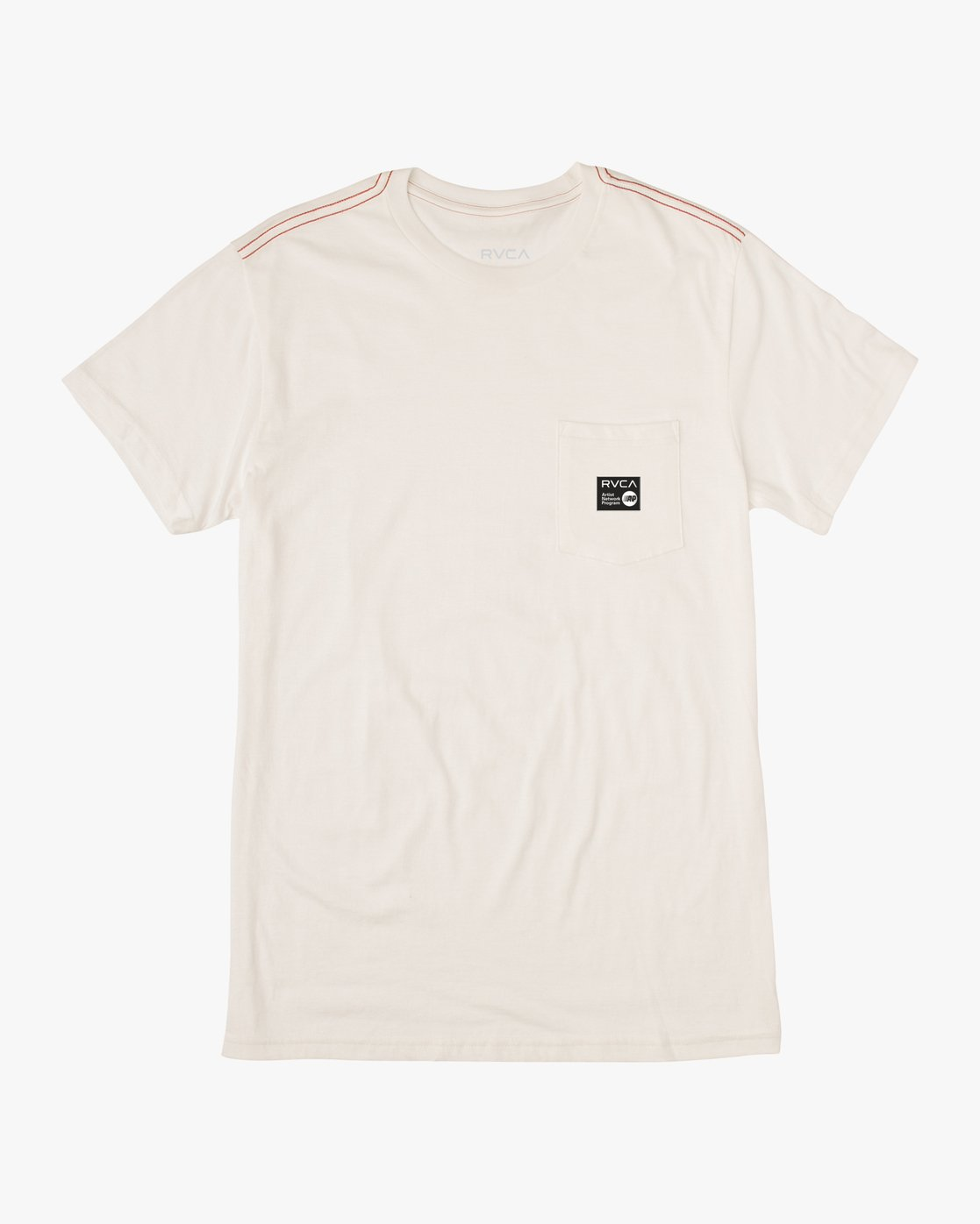 0 ANP POCKET SHORT SLEEVE TEE White M4362RAN RVCA
