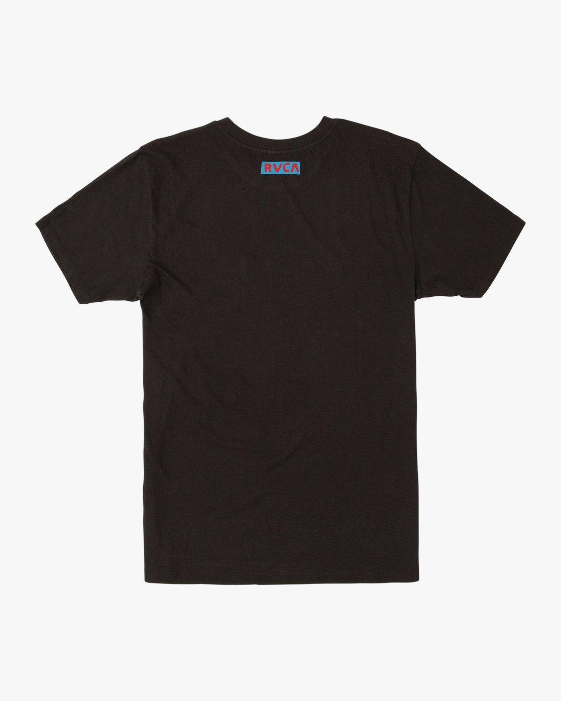 1 LUCHADOR SHORT SLEEVE T-SHIRT Black M4362RLU RVCA