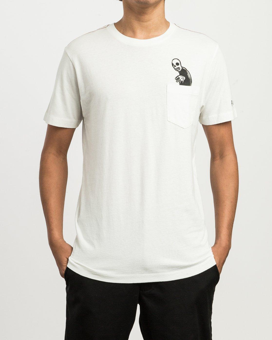 1 Pommier Creeper T-Shirt  M436SRCR RVCA