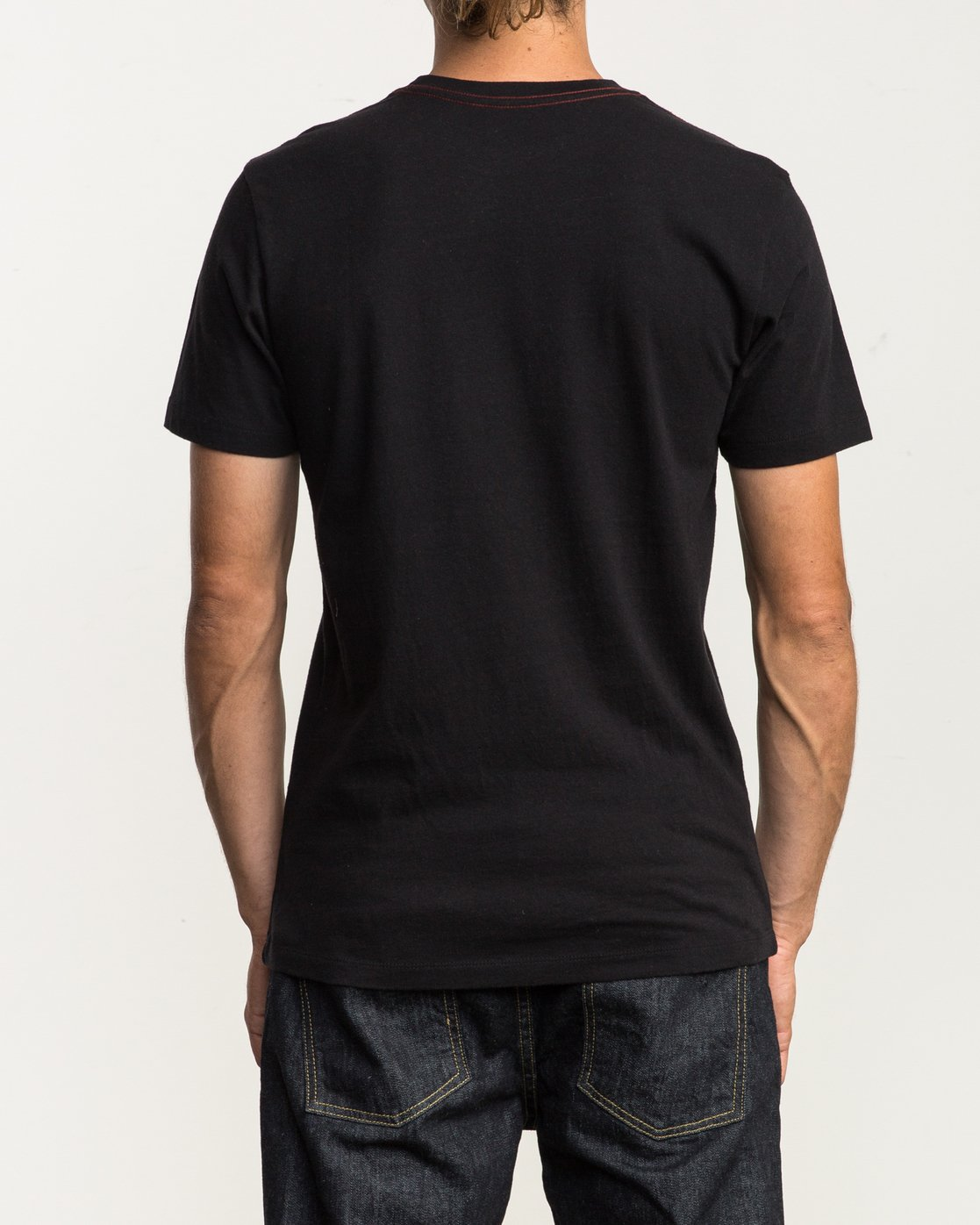 3 Mod Stripe Pocket T-Shirt  M436SRMO RVCA