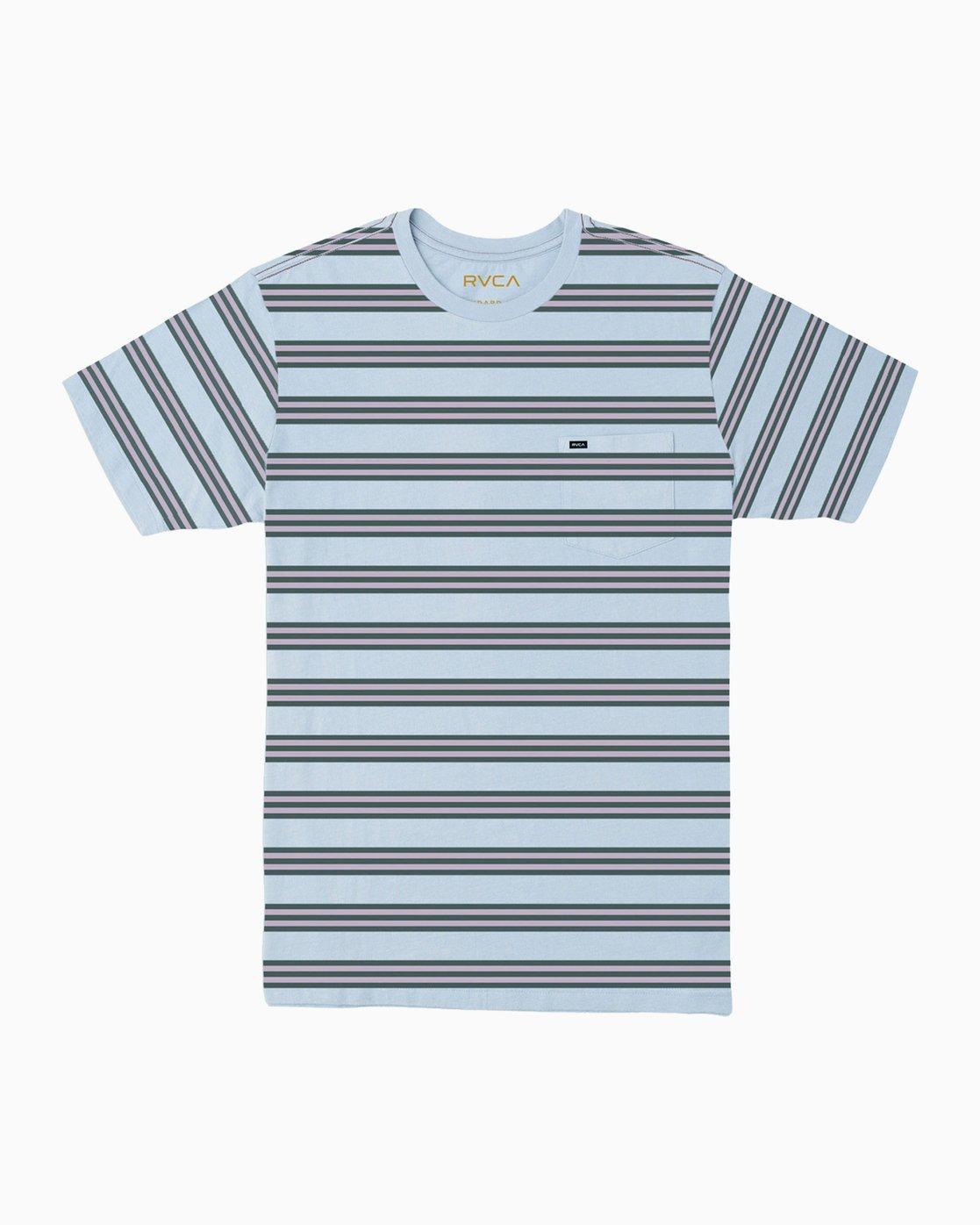 0 Ferris Striped T-Shirt  M436TRFE RVCA