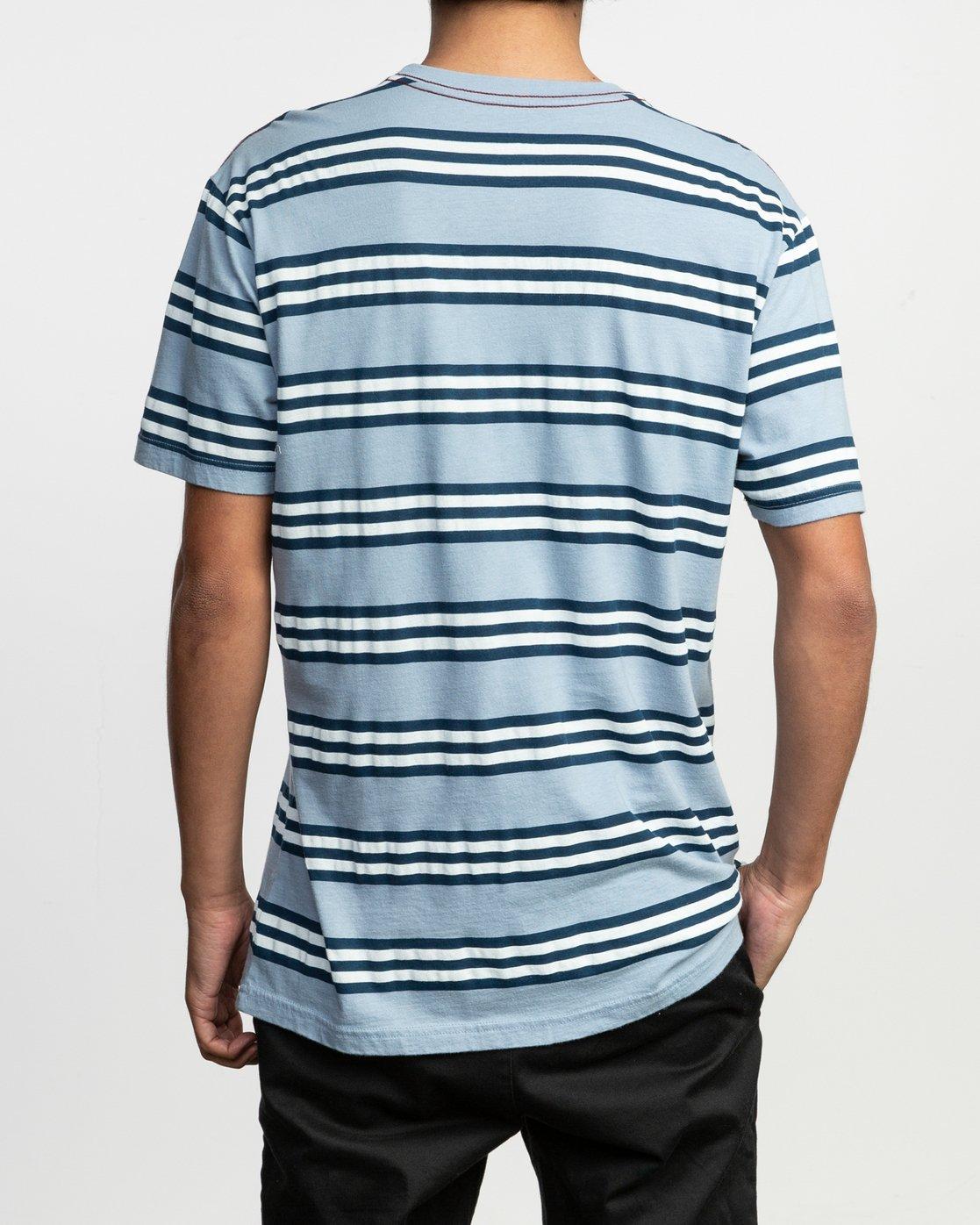 3 Ferris Striped T-Shirt  M436TRFE RVCA
