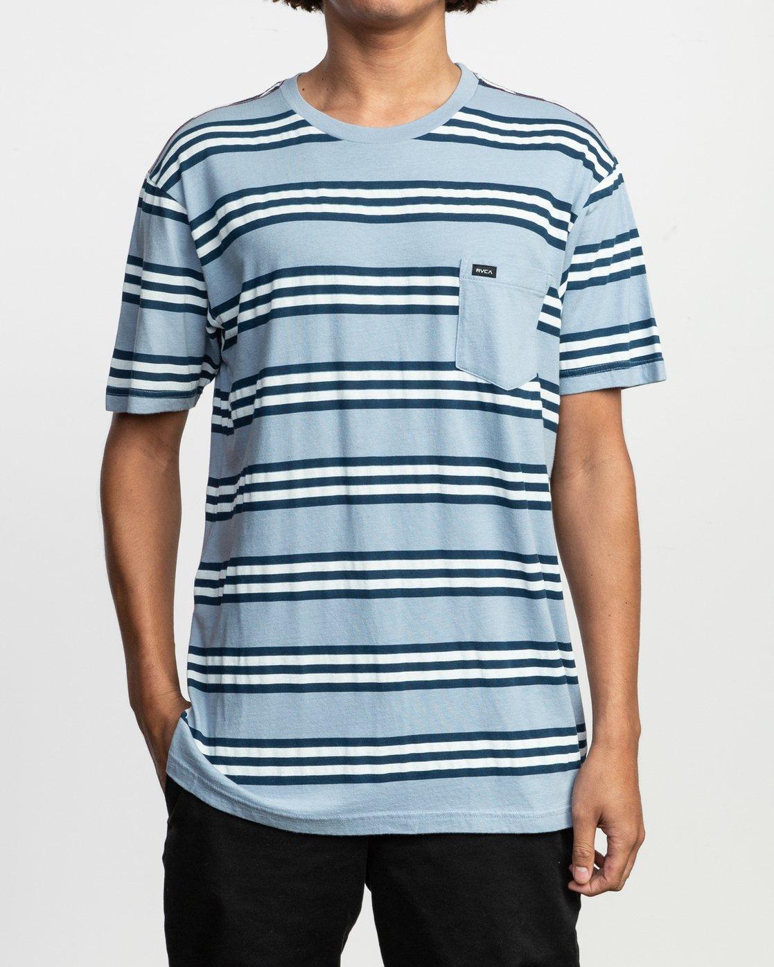 1 Ferris Striped T-Shirt  M436TRFE RVCA