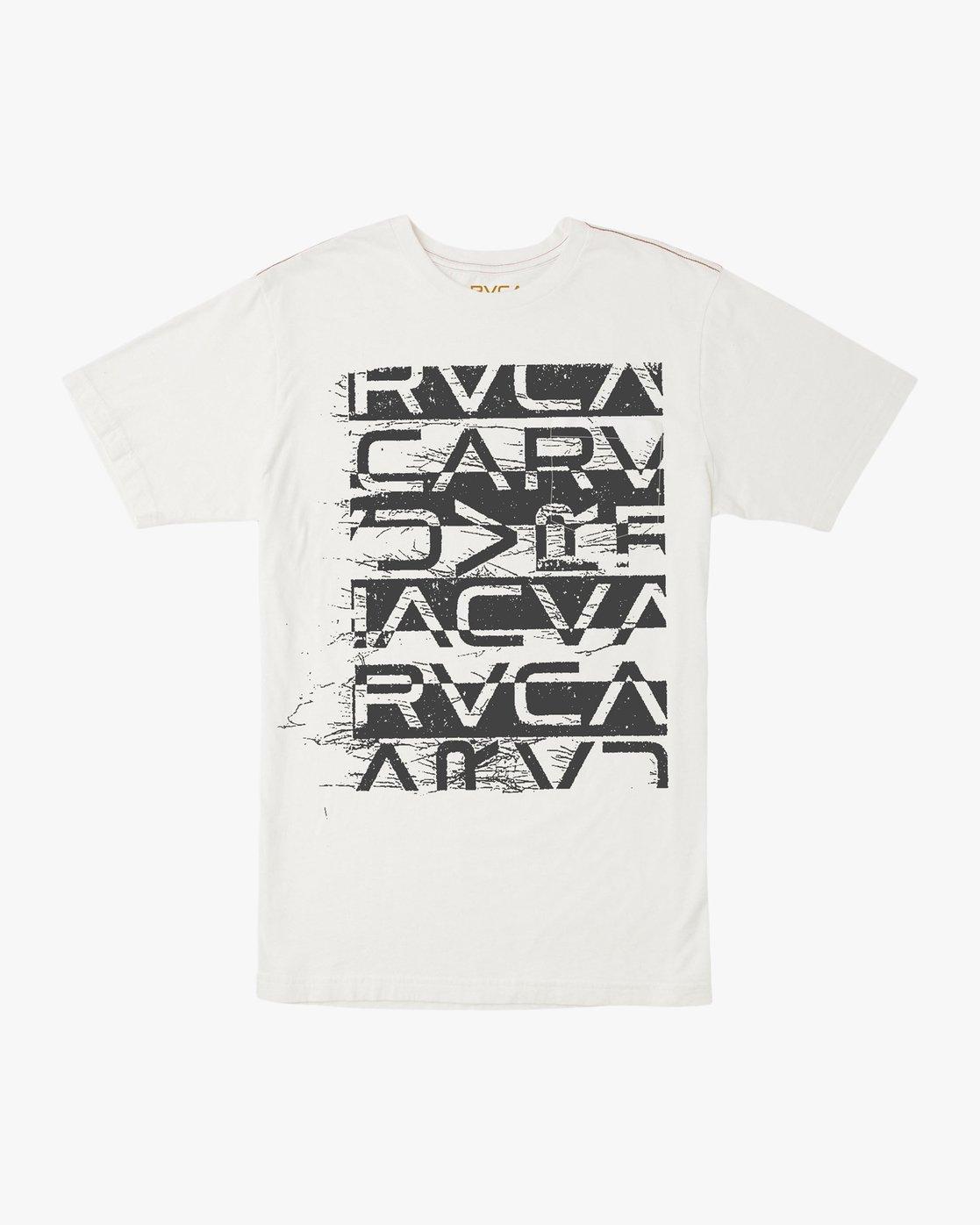 0 Staxt T-Shirt White M436TRST RVCA
