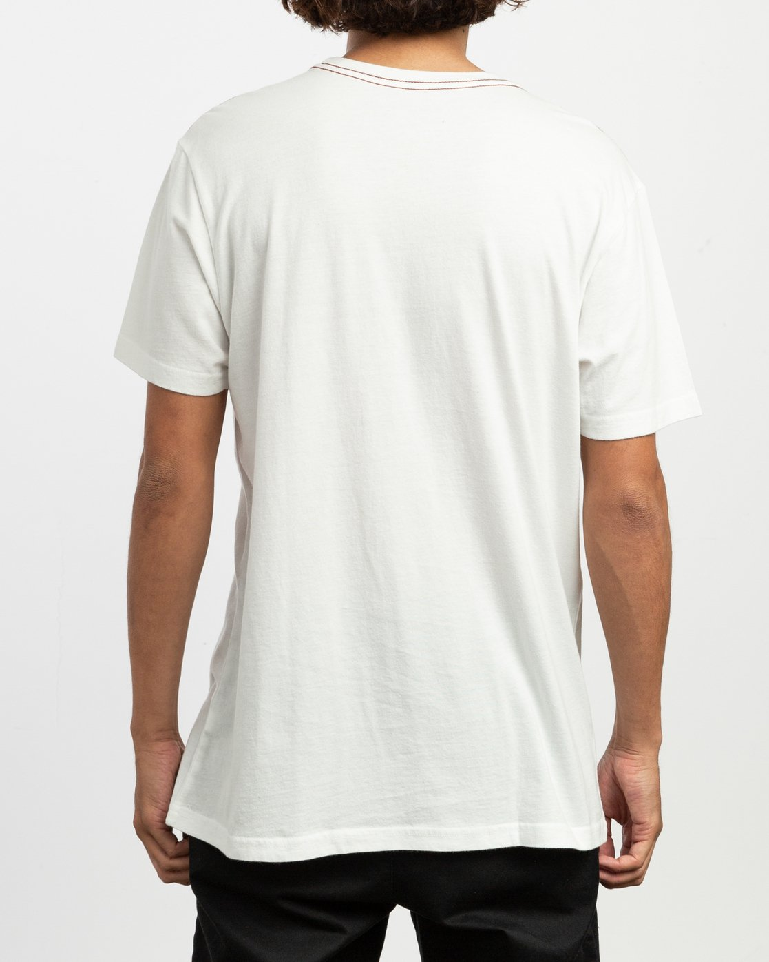 3 Staxt T-Shirt White M436TRST RVCA