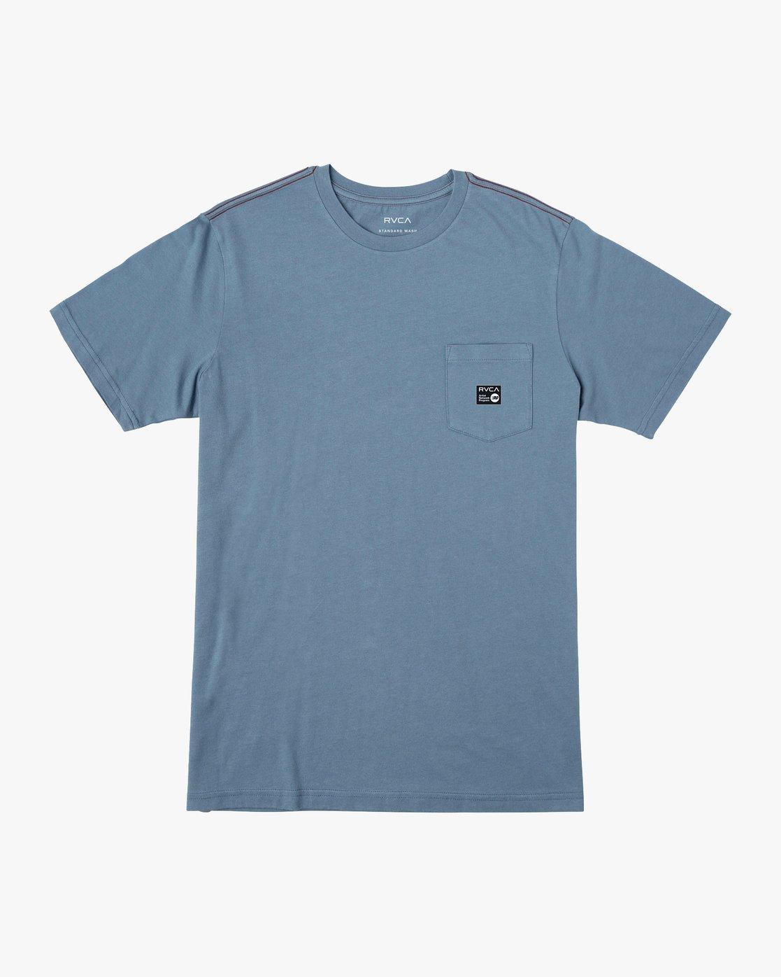 0 ANP Pocket T-Shirt Red M436VRAN RVCA