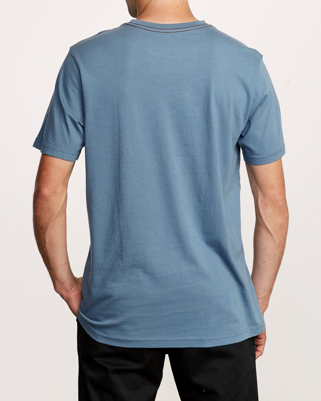 3 ANP Pocket T-Shirt Red M436VRAN RVCA