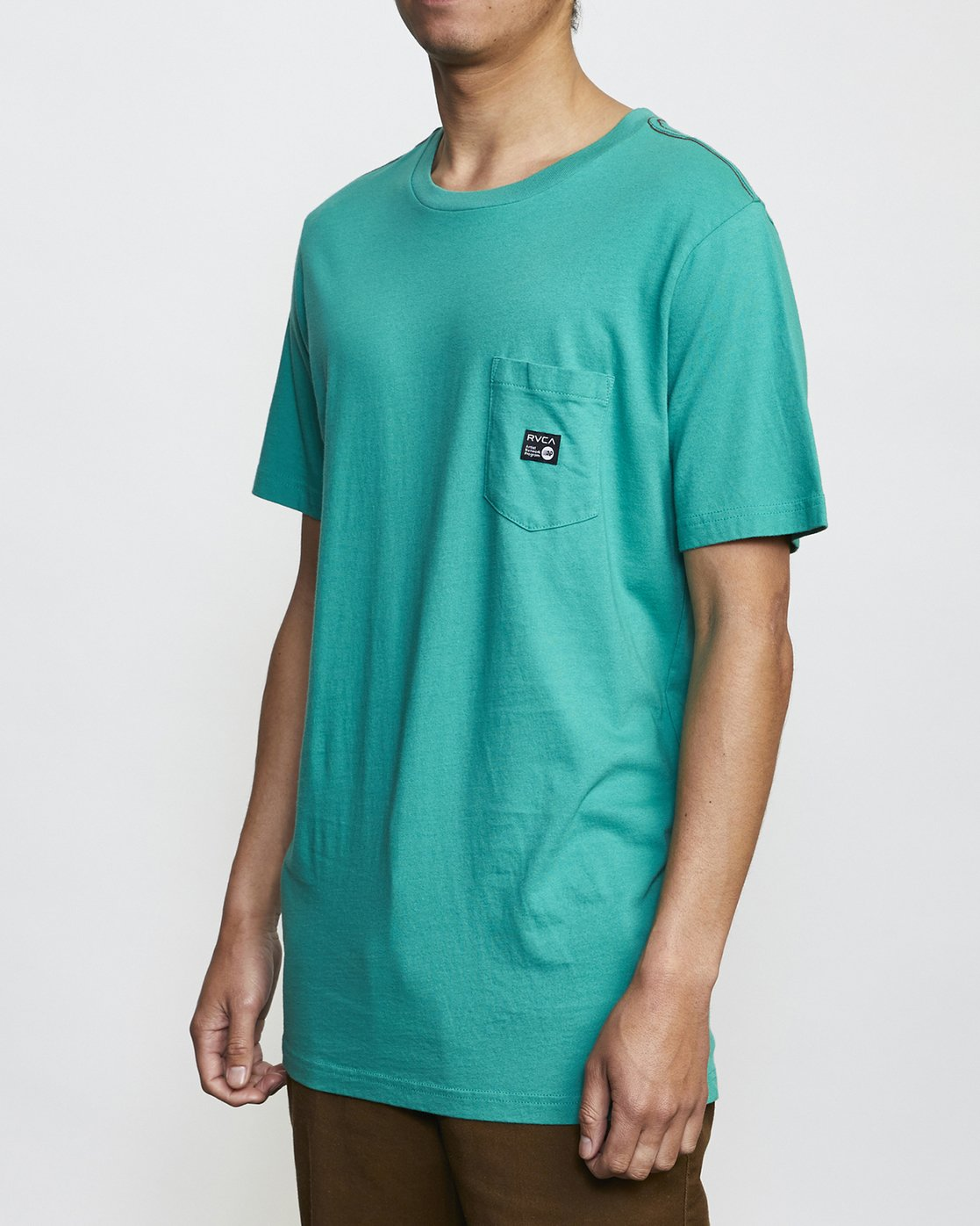 1 ANP Pocket T-Shirt Green M436VRAN RVCA