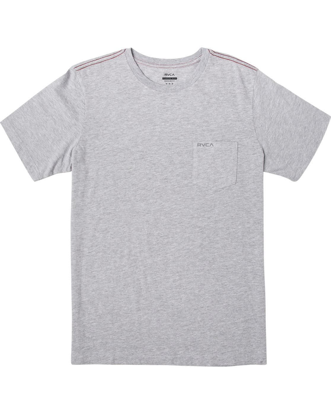 0 PTC STANDARD WASH SHORT SLEEVE TEE Grey M436VRPT RVCA