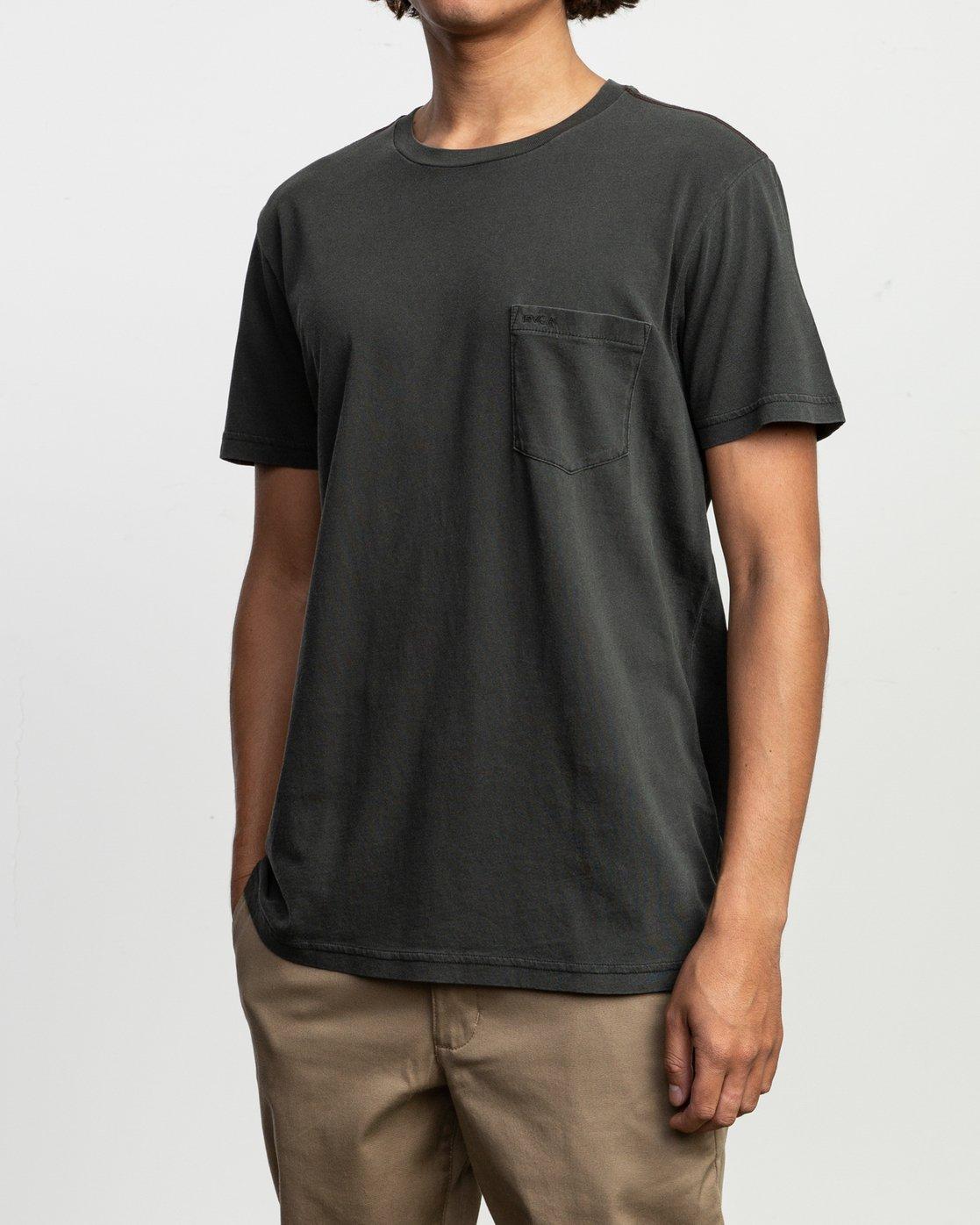 2 PTC Standard Wash T-Shirt Black M436VRPT RVCA