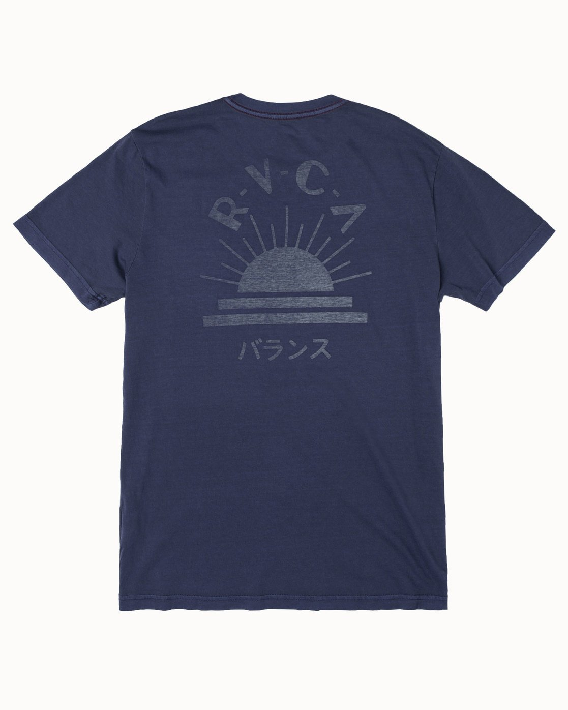 1 DAWNED SHORT SLEEVE T-SHIRT Blue M4372RDA RVCA