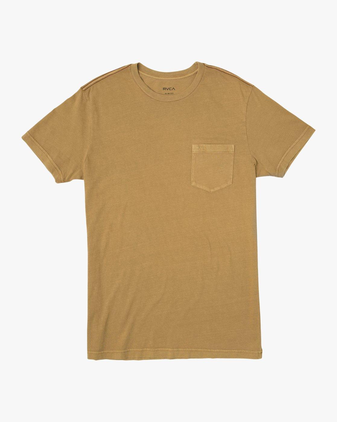 0 PTC 2 Pigment T-Shirt Brown M437TRPT RVCA