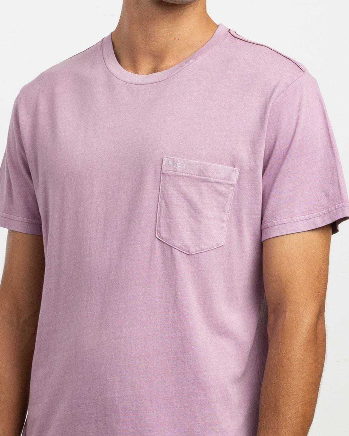 4 PTC 2 Pigment T-Shirt Purple M437TRPT RVCA