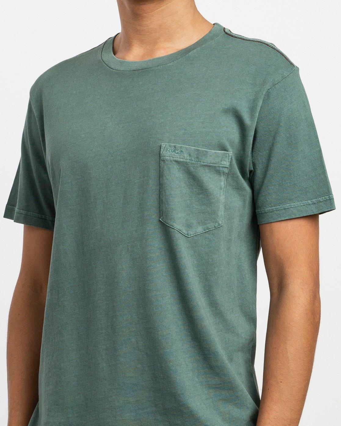 4 PTC 2 Pigment T-Shirt Green M437TRPT RVCA
