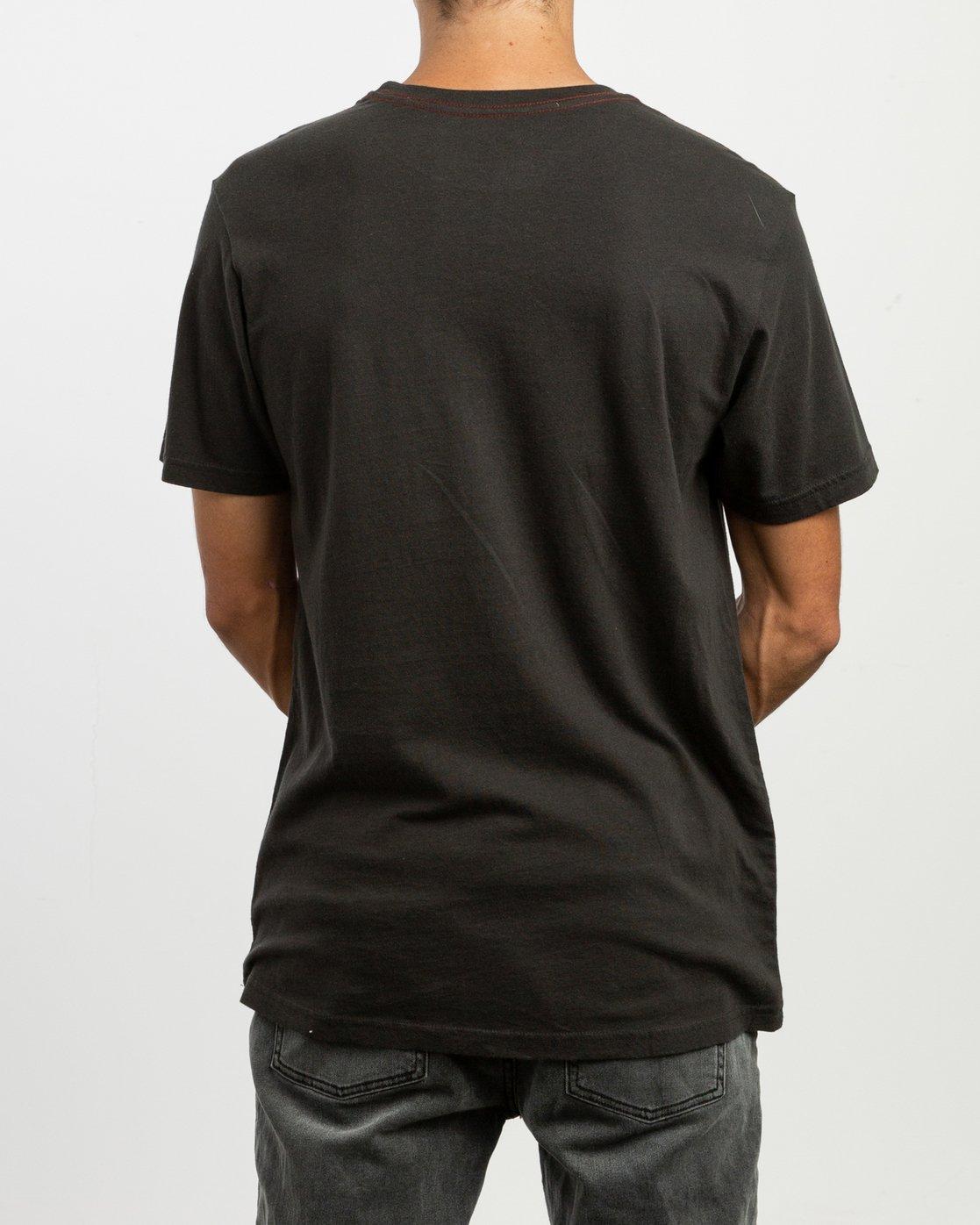 3 PTC 2 Pigment T-Shirt Black M437TRPT RVCA