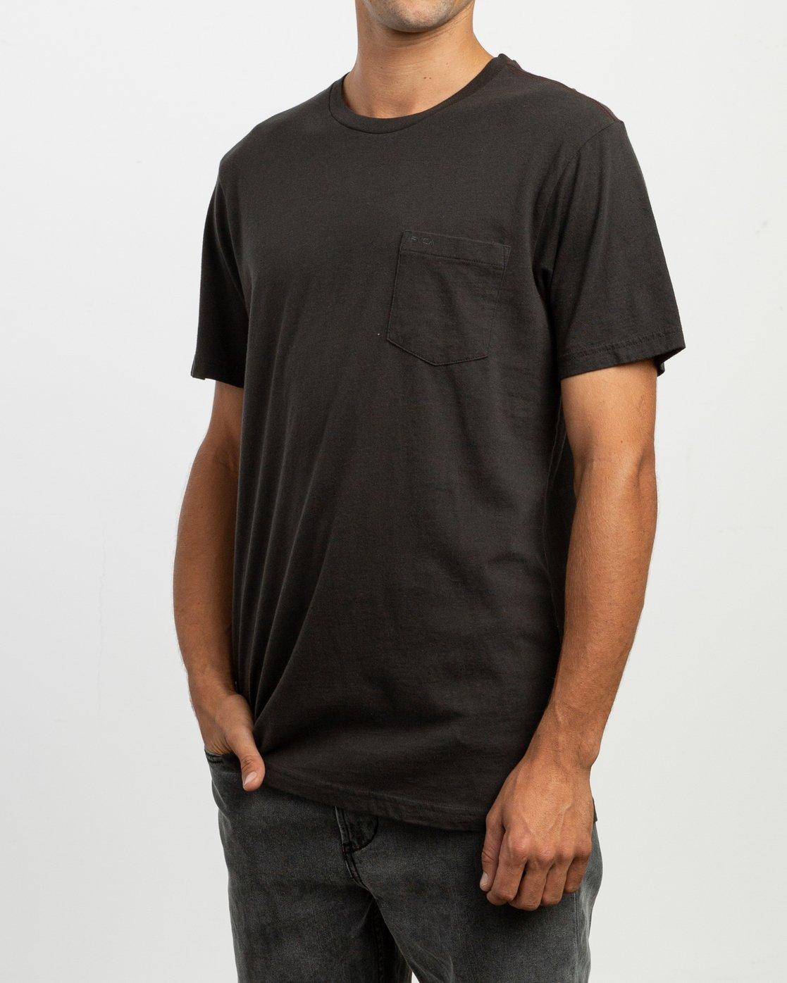 2 PTC 2 Pigment T-Shirt Black M437TRPT RVCA