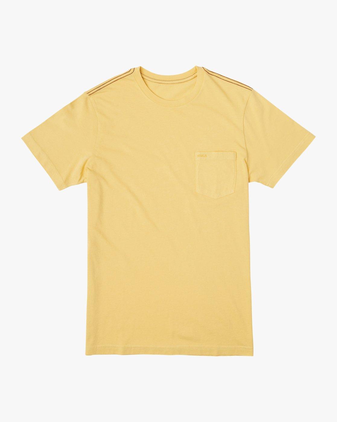0 PTC 2 Pigment T-Shirt Yellow M437VRPT RVCA
