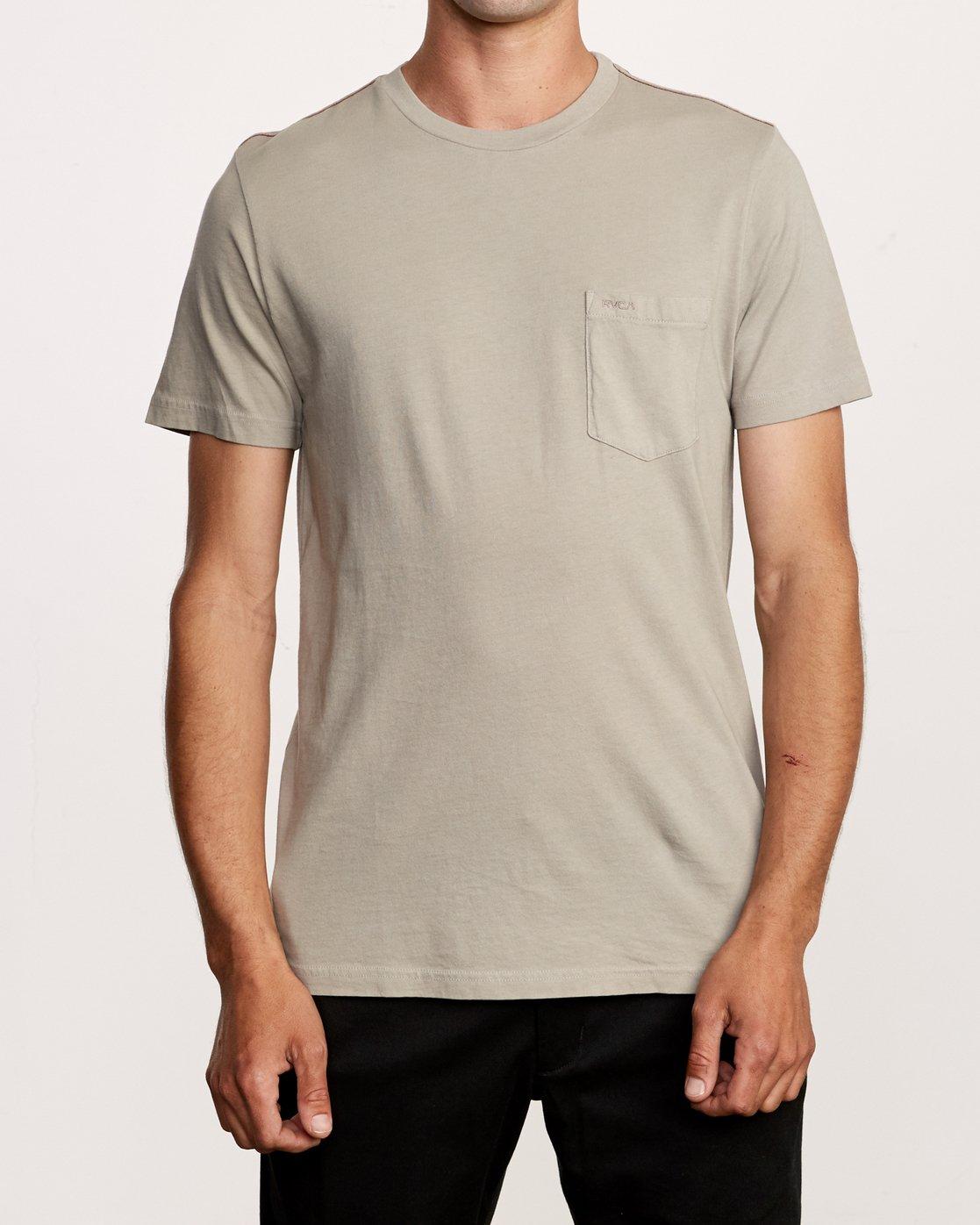 1 PTC 2 Pigment T-Shirt Green M437VRPT RVCA