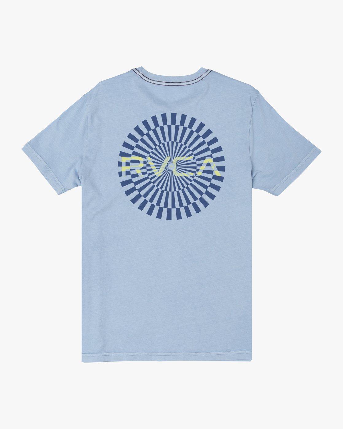 1 MAYDAY SHORT SLEEVE TEE Blue M4382RMA RVCA