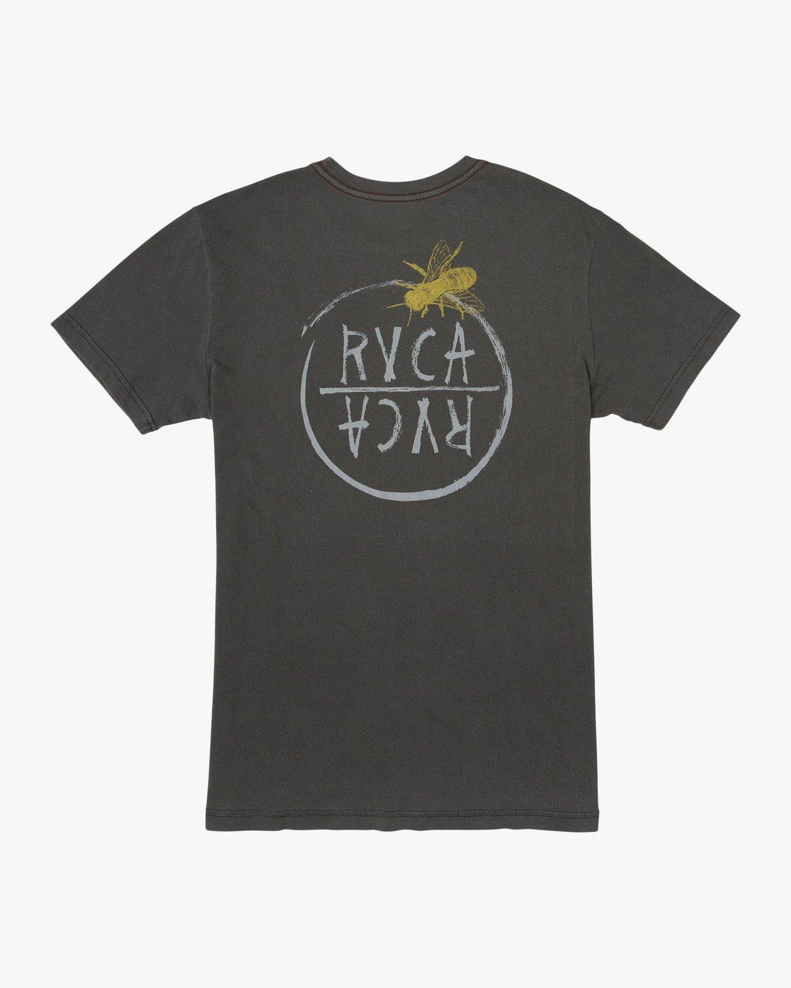 0 Ben Horton Hivemind T-Shirt Black M438TRHI RVCA