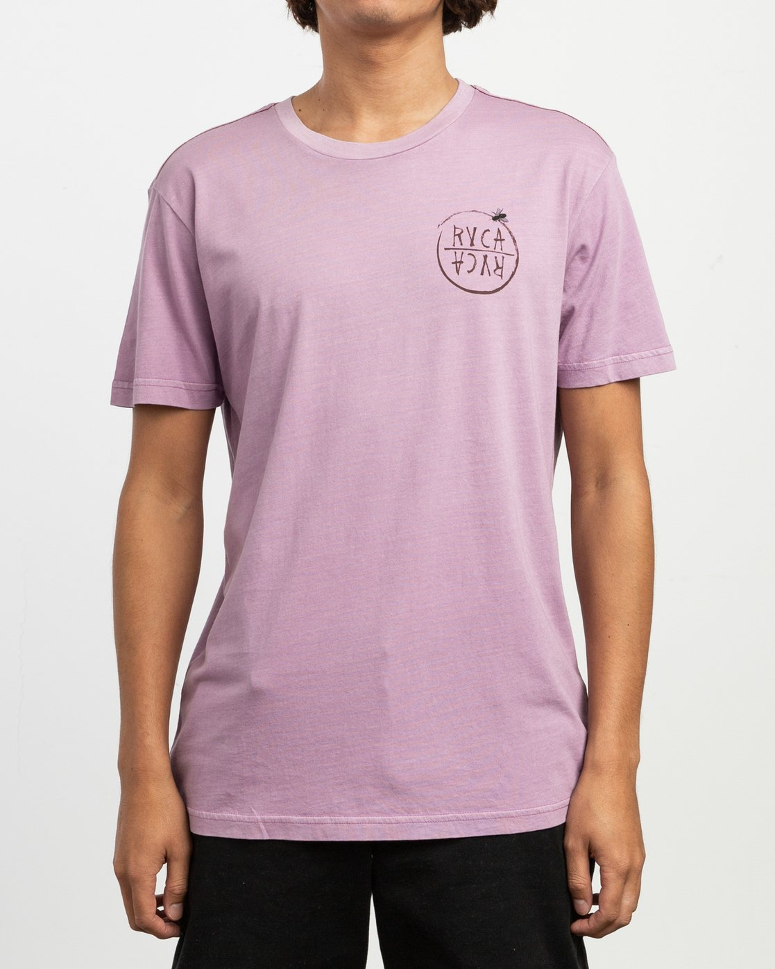 2 Ben Horton Hivemind T-Shirt Purple M438TRHI RVCA
