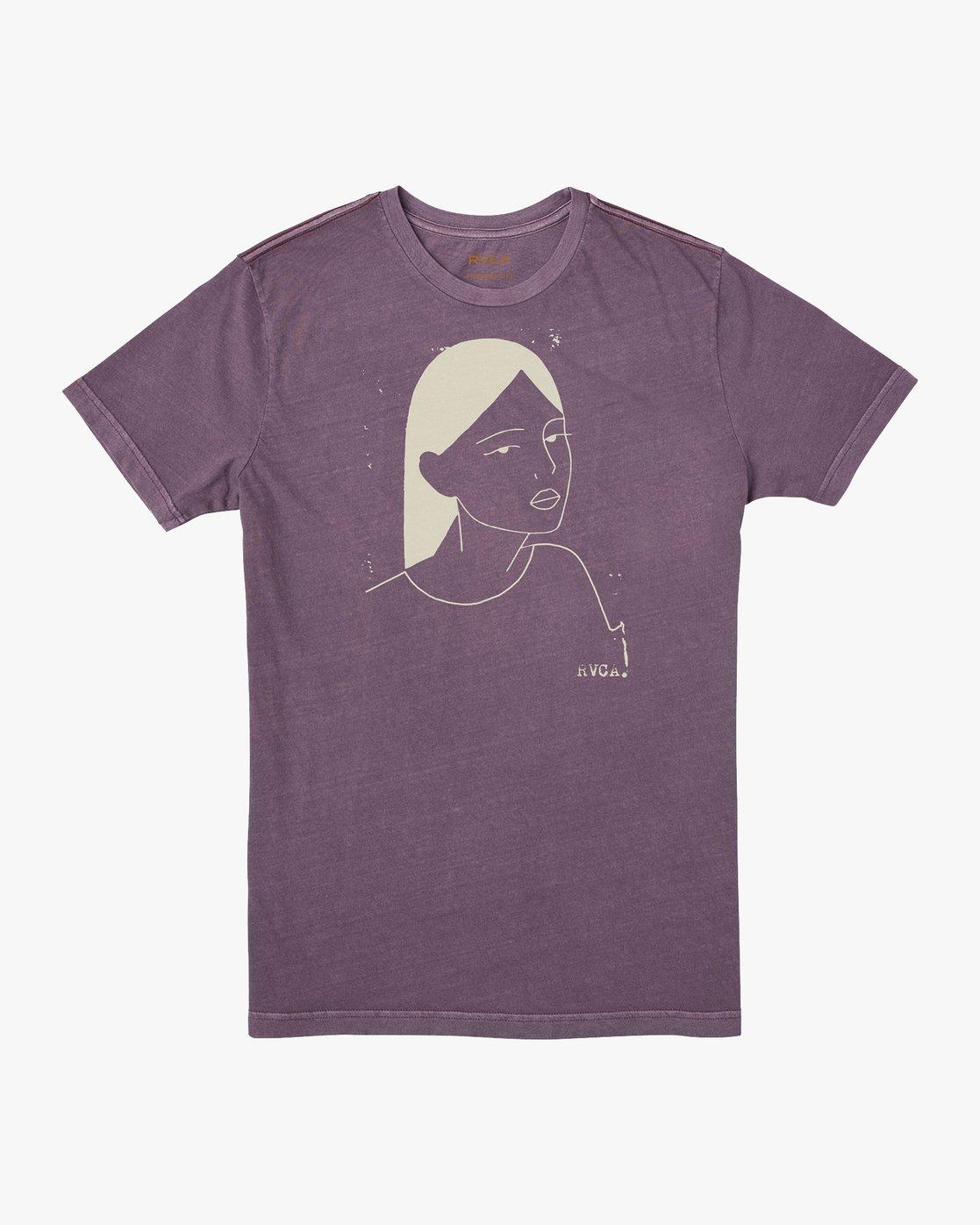 0 Johanna Olk Frosty Gaze T-Shirt Purple M438URFR RVCA
