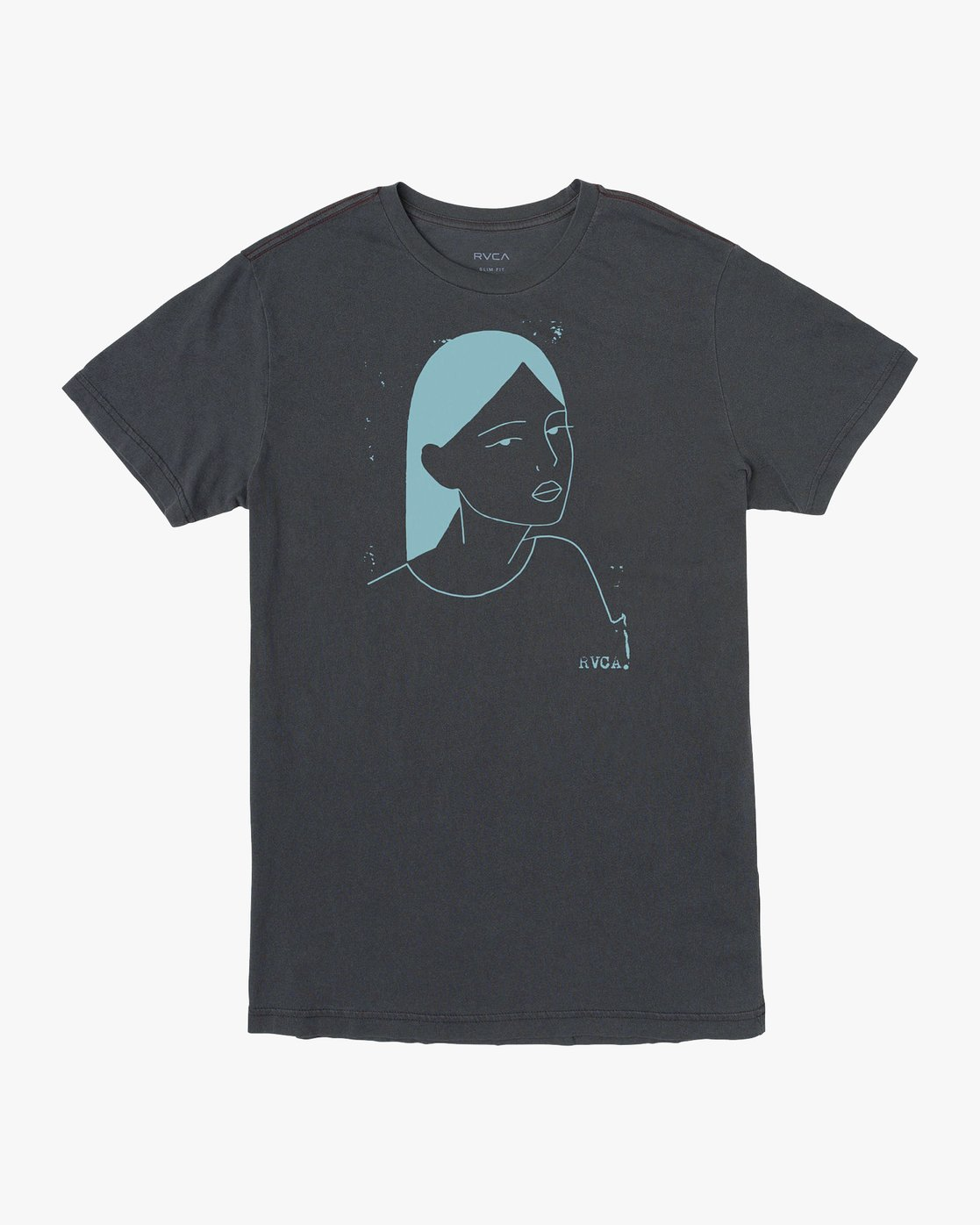 0 Johanna Olk Frosty Gaze T-Shirt Black M438URFR RVCA