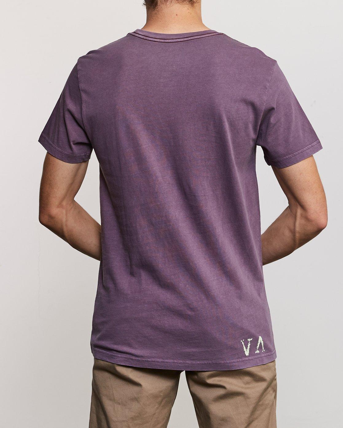 4 Johanna Olk Frosty Gaze T-Shirt Purple M438URFR RVCA
