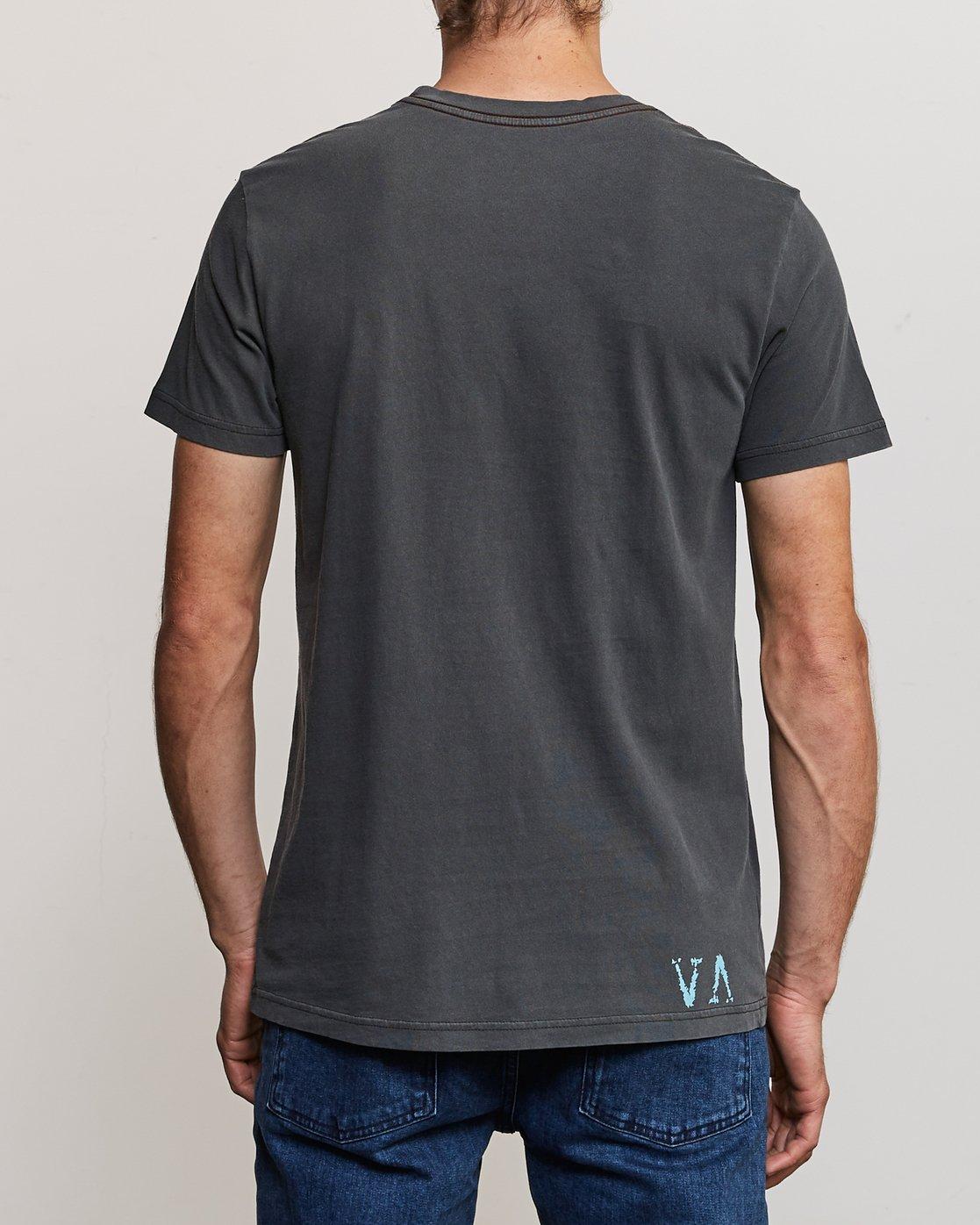 4 Johanna Olk Frosty Gaze T-Shirt Black M438URFR RVCA