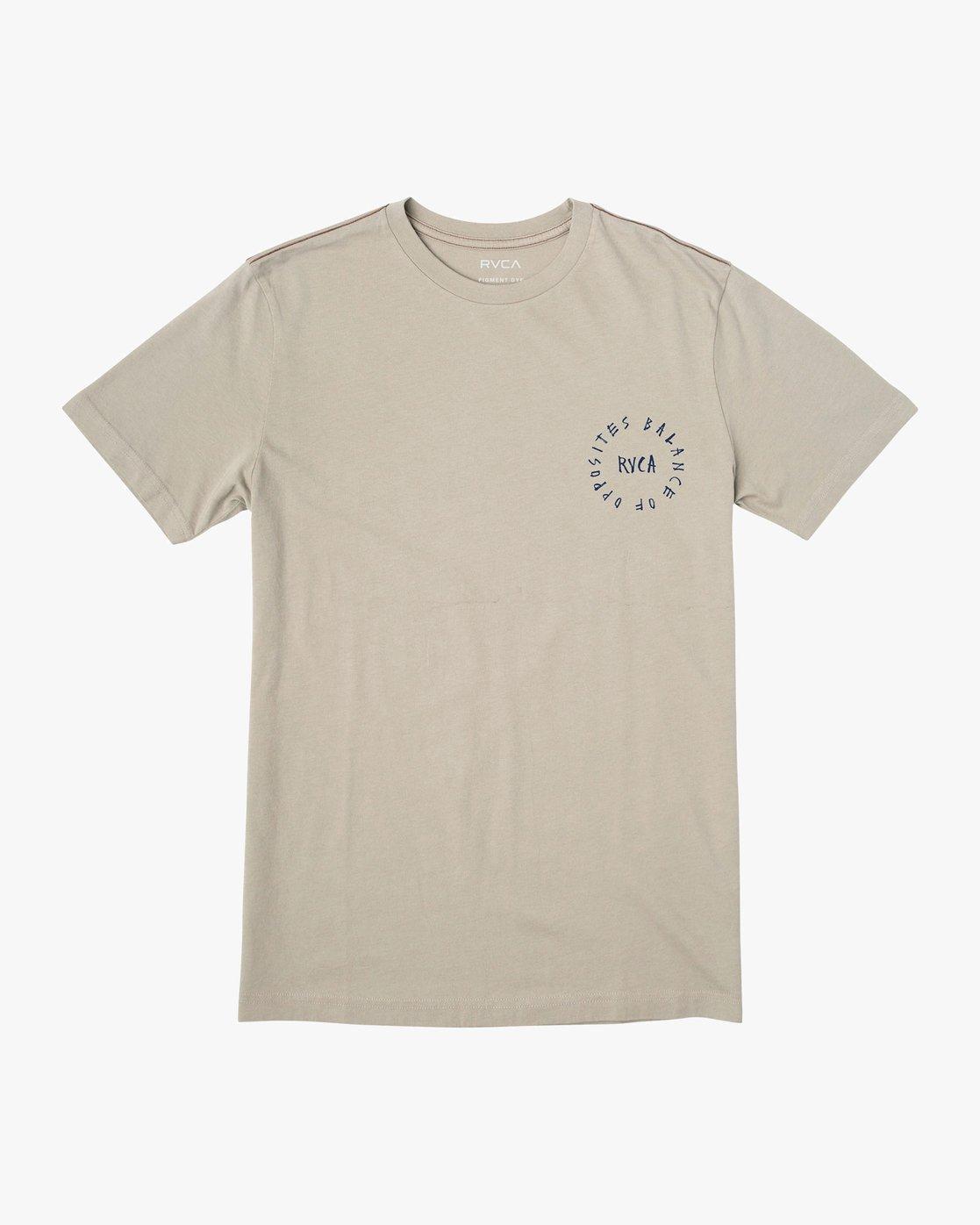 1 Hortonsphere T-Shirt Green M438VRHO RVCA