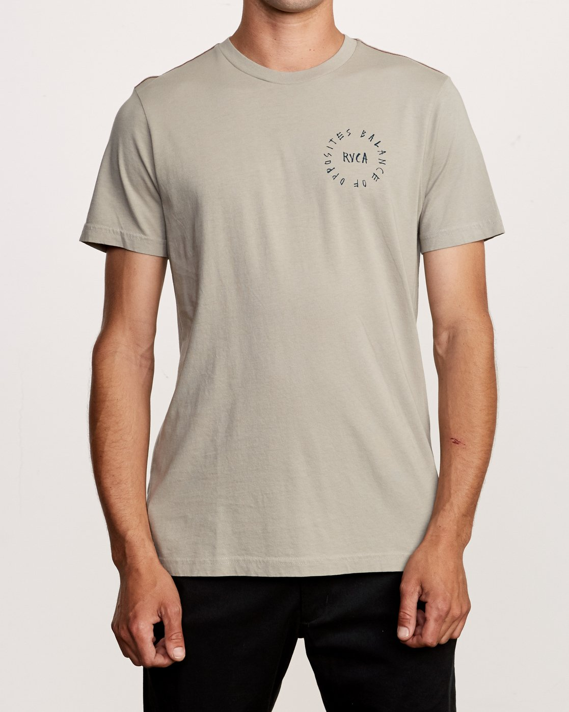 2 Hortonsphere T-Shirt Green M438VRHO RVCA
