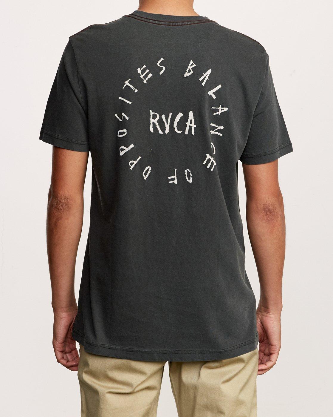 4 Hortonsphere T-Shirt Black M438VRHO RVCA