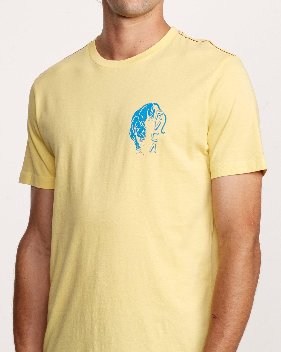 5 Prowler T-Shirt Yellow M438VRPR RVCA