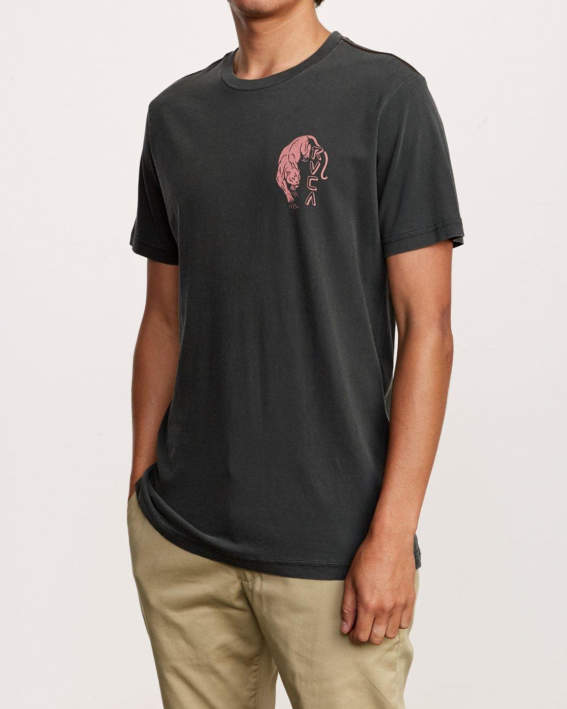 3 Prowler T-Shirt Black M438VRPR RVCA