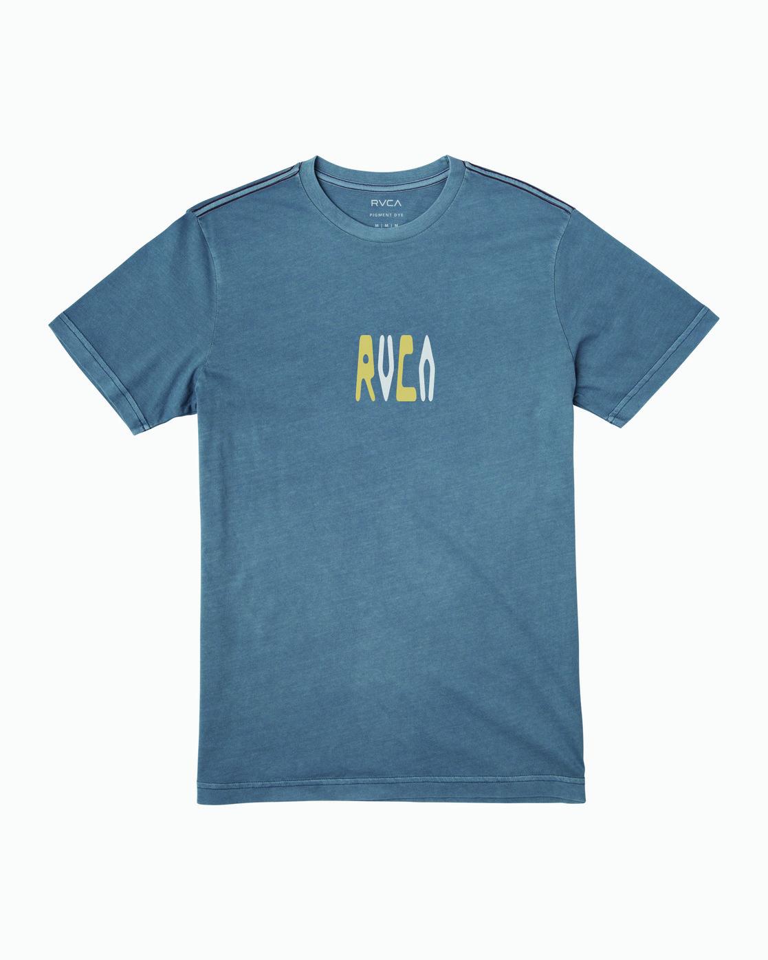 1 Impulse T-Shirt Blue M438WRIM RVCA