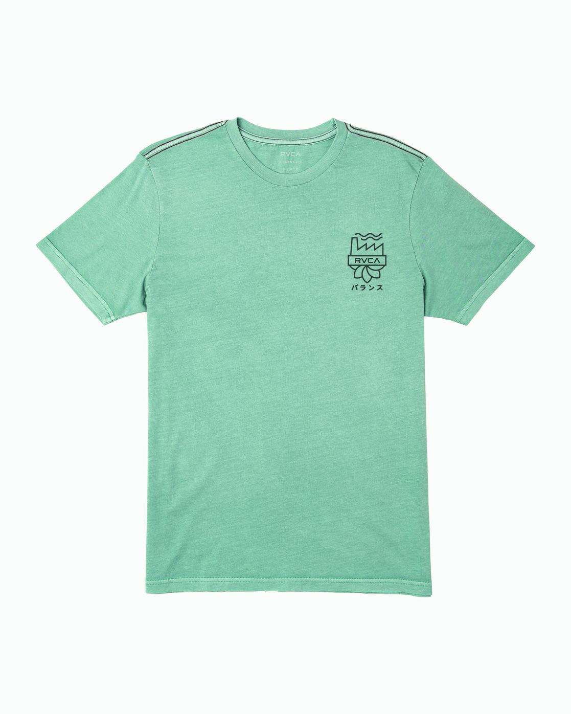 1 Yamamoto T-Shirt Green M438WRYA RVCA