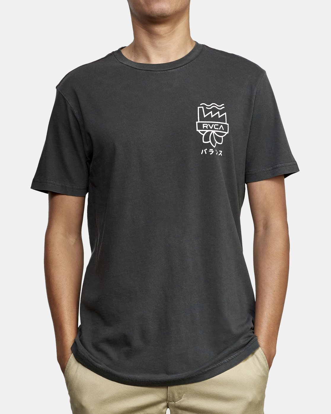 3 Yamamoto T-Shirt Black M438WRYA RVCA