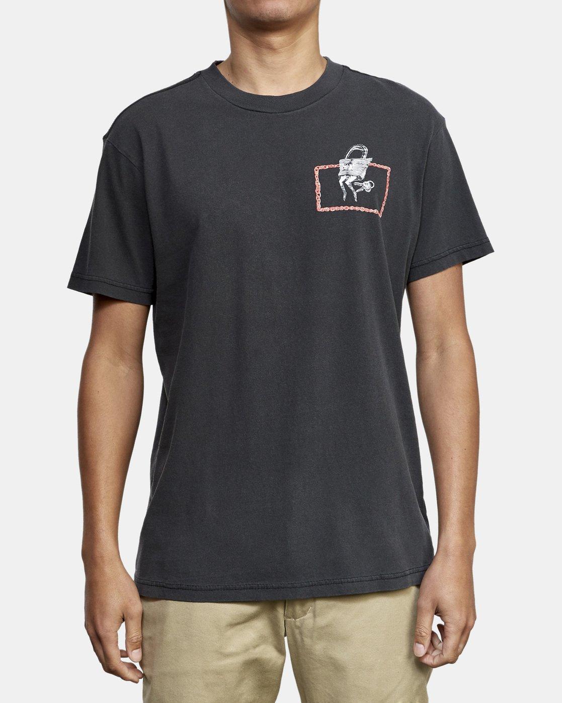 2 Spanky Conjoined T-Shirt Black M441WRCO RVCA