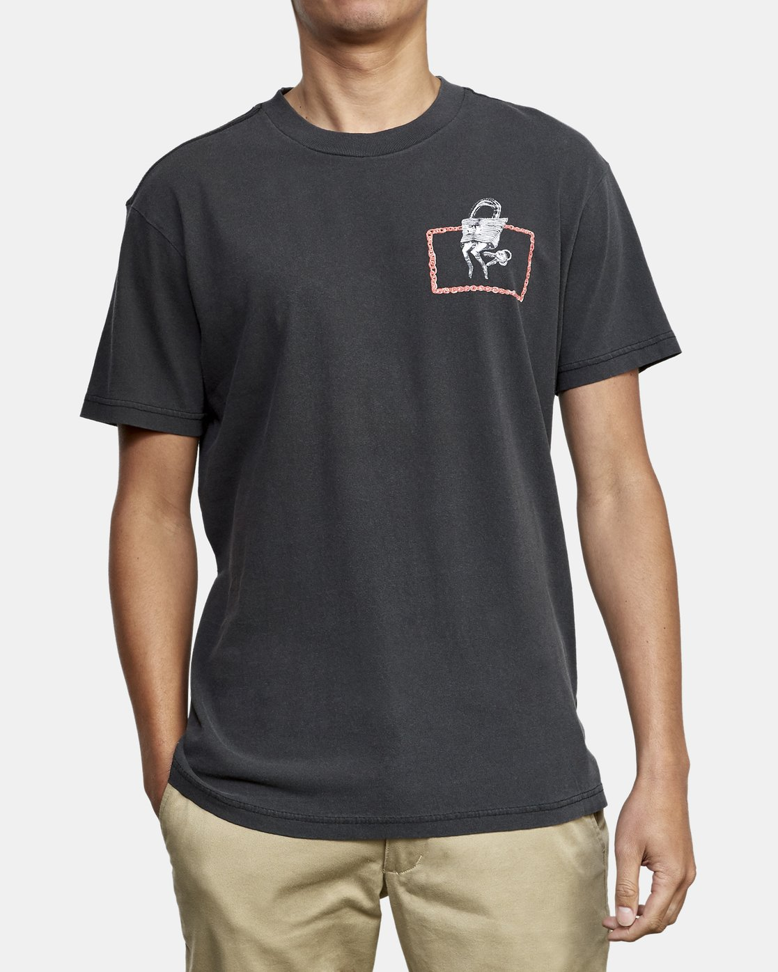 3 Spanky Conjoined T-Shirt Black M441WRCO RVCA