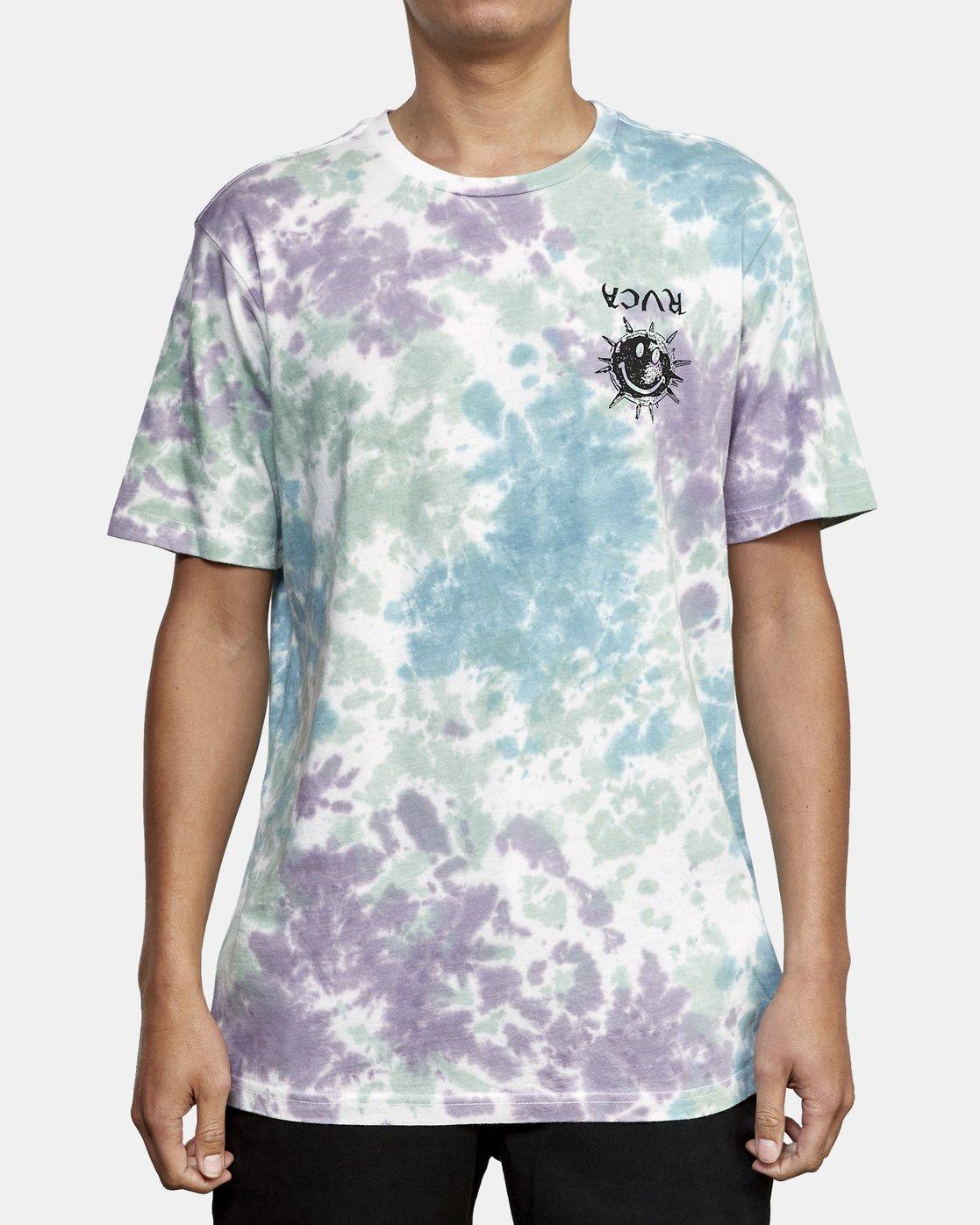 2 Morning Star Tie Dye T-Shirt Multicolor M446WRMO RVCA