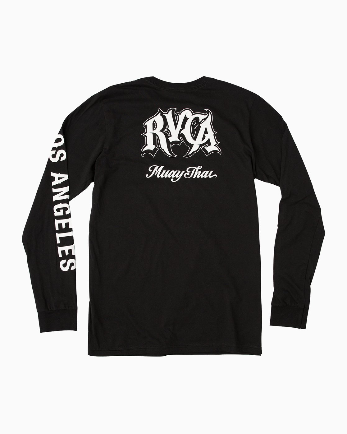 1 Mister Cartoon City Long Sleeve T-Shirt Black M451MRMS RVCA