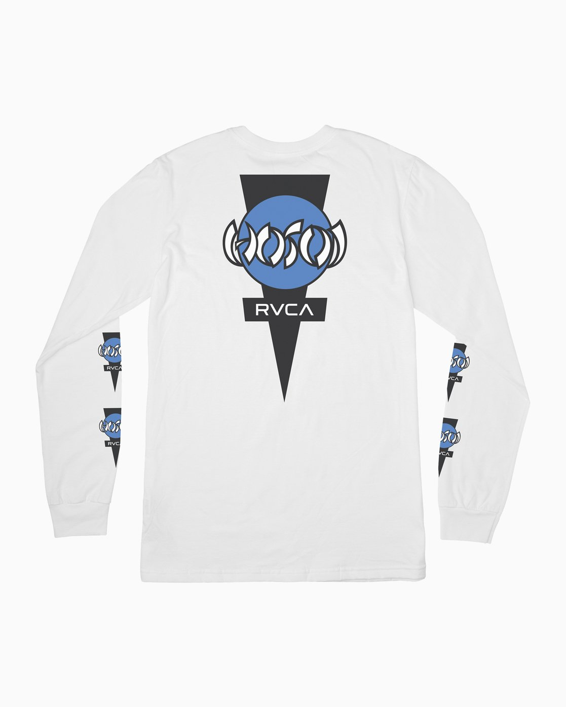 1 Christian Hosoi Long Sleeve T-Shirt White M451SRHS RVCA