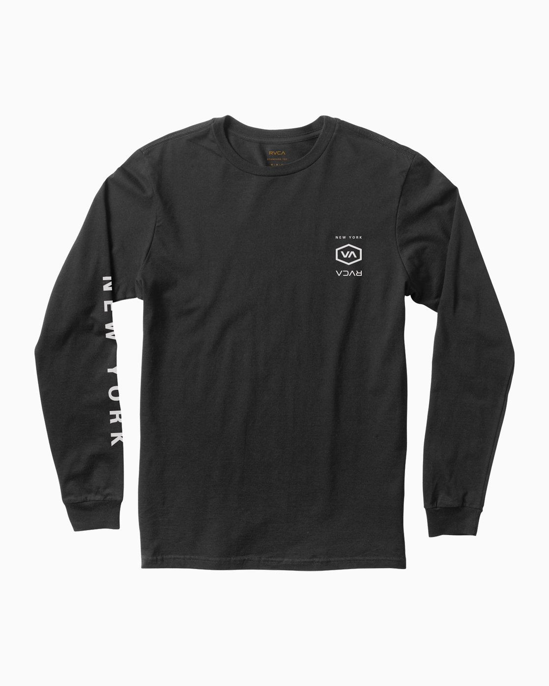 1 Hex Type NY Long Sleeve T-Shirt  M451SRNE RVCA