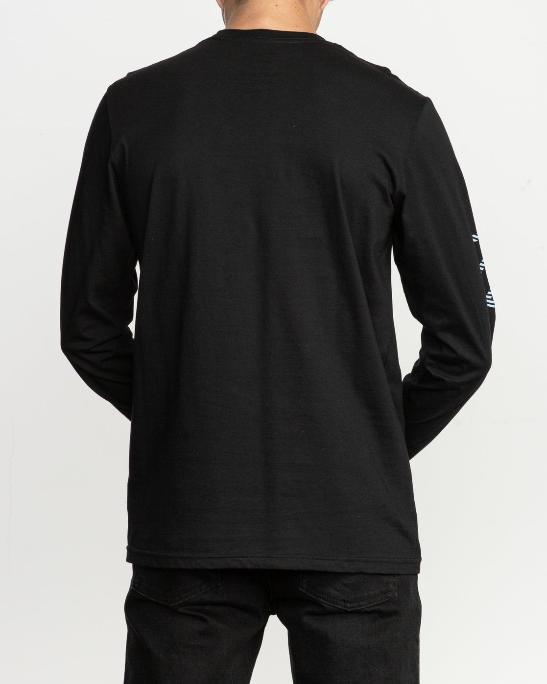 3 Segment Long Sleeve T-Shirt Black M451TRSE RVCA