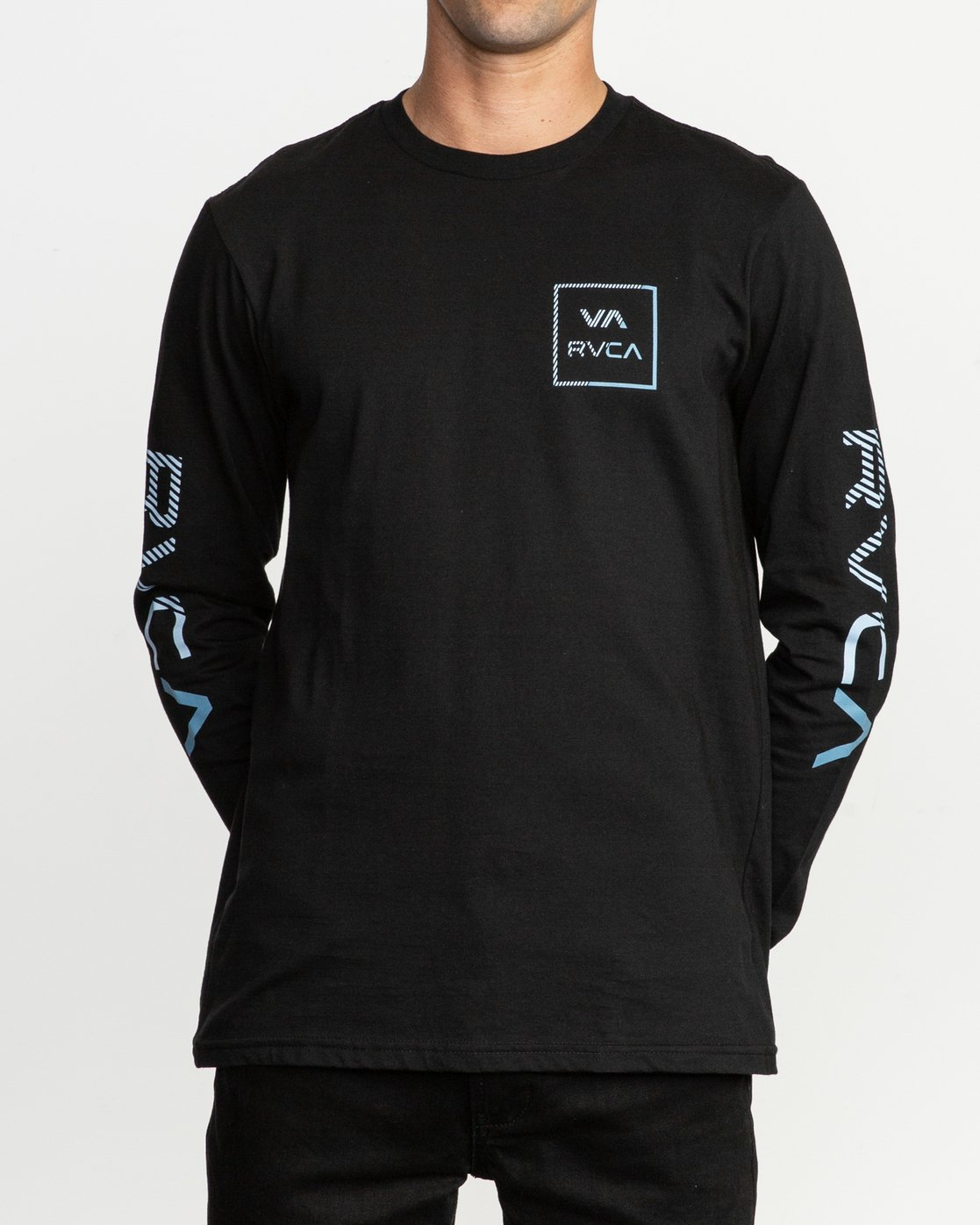 1 Segment Long Sleeve T-Shirt Black M451TRSE RVCA