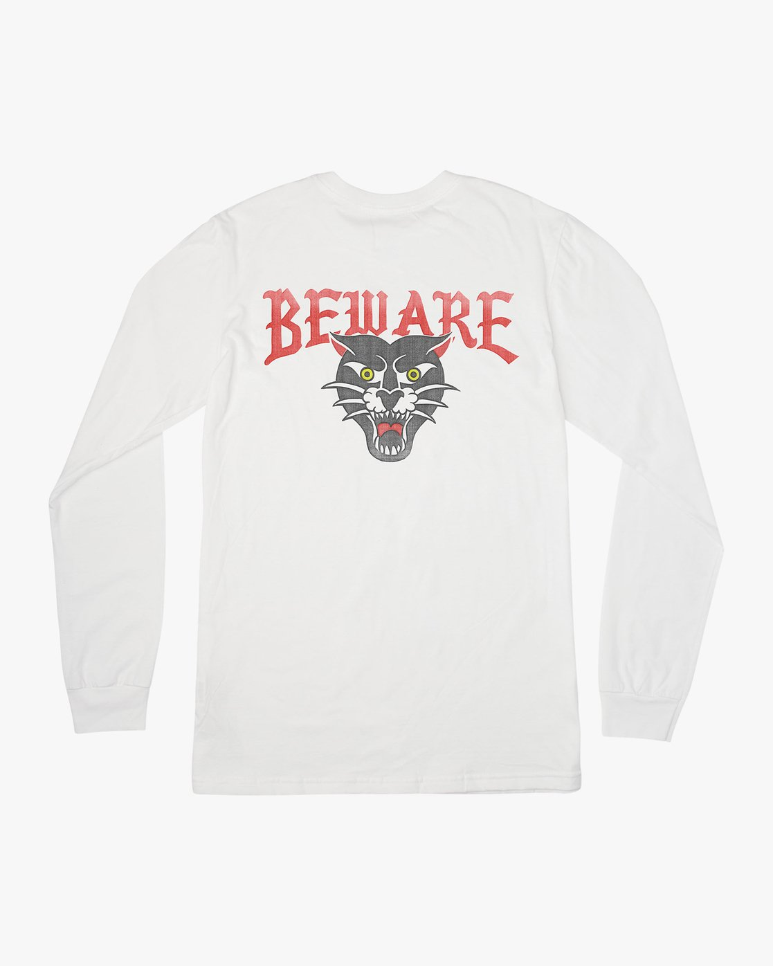 0 Suzuki Beware Long Sleeve T-Shirt White M451URBE RVCA